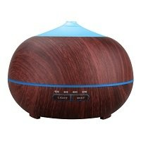 Tenswall Aromatherapy Essential Oil Diffuser, 400ml Ultrasonic Cool Mist Humidifier