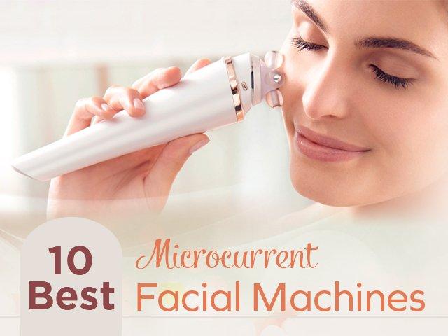 Facial machine toning