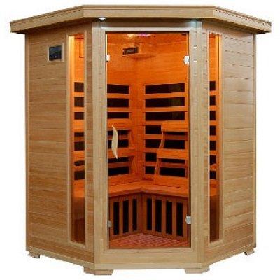 HeatWave Sante Fe SA2412DX Infrared 3-Person Carbon Sauna