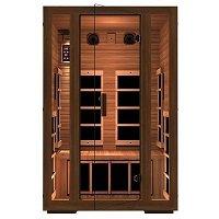 JNH Lifestyles 2-Person Far Infrared Sauna 7 Carbon Fiber Heaters