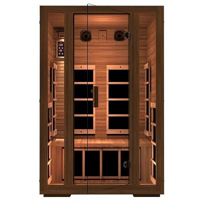 JNH Lifestyles 2-Person Far Infrared Sauna 7 Carbon Fiber Heaters