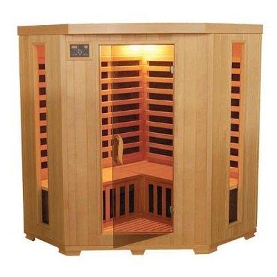 TheraPure Sauna ESF302CHCB Infrared Heat Sauna