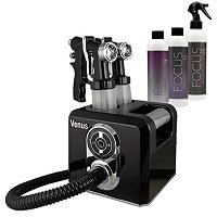 Venus Spray Tanning Machine Kit with Sunless Airbrush Tanning Solution