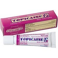 TOPICAINE 5% numbing gel