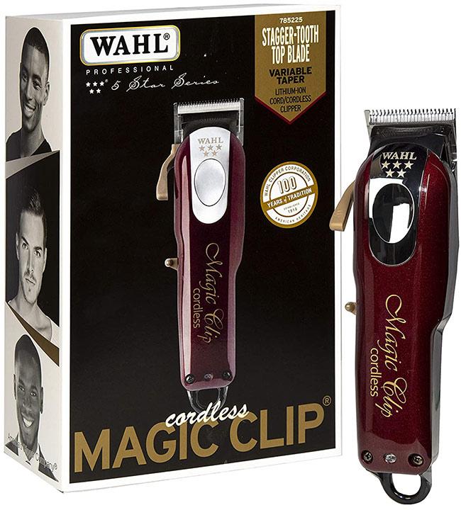 Top hair clippers fades and tapers - wahl