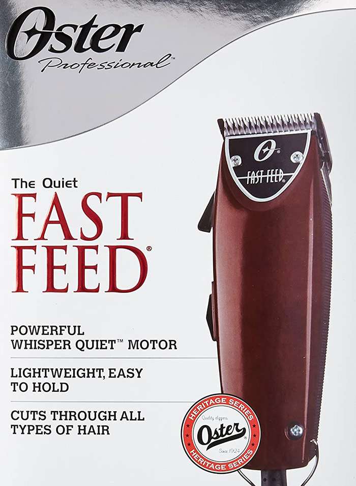 OSTER Fast Feed Top Hair Clippers