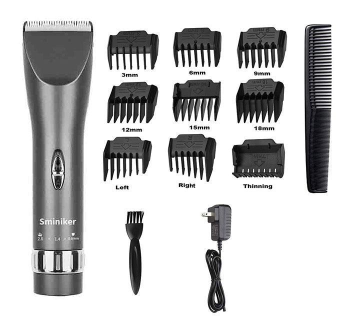 Sminiker Professional Hair Clippers Cordless