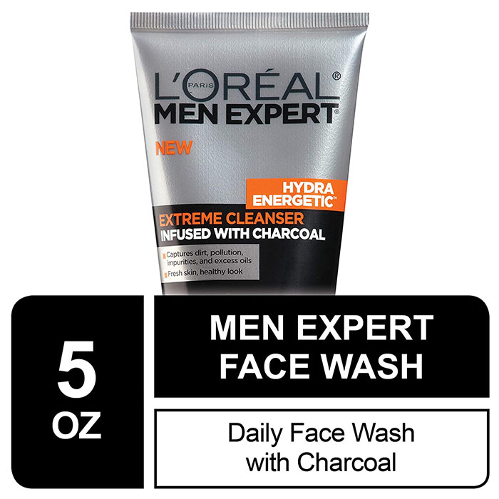 L'Oreal Men's Face Wash with Charcoal