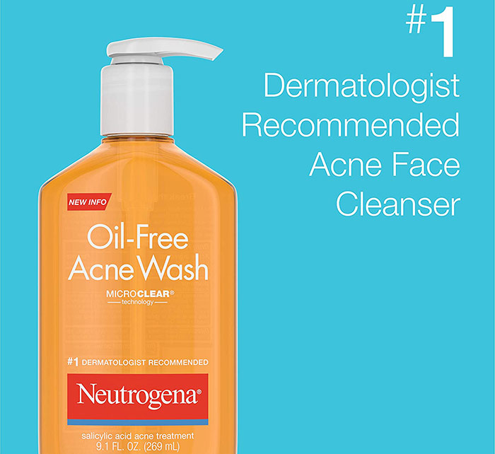 Best Oil Free Face Wash for Blackheads - Neutrogena
