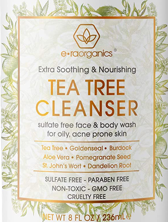 Best Natural-Organic sulfate free fash wash for blackheads