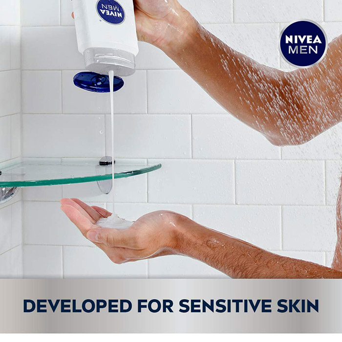 Nivea Body Wash for men with sensitive skin