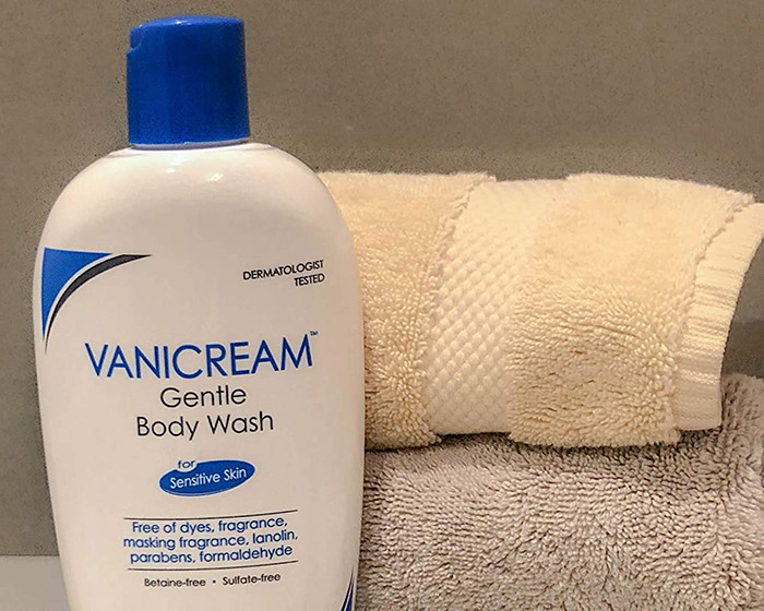 Sulfate free body wash vanicream